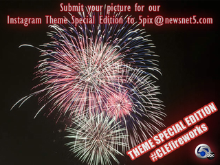 Submit #CLEfireworks pics for our Instagram acct