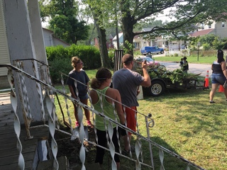 House donated to family of slain woman