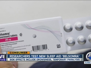 Consumer Report examines sleep aid for insomnia