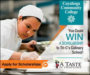 Apply to win a culinary arts scholarship