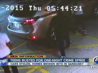 Sandusky crime spree tied to Cle auto-theft ring
