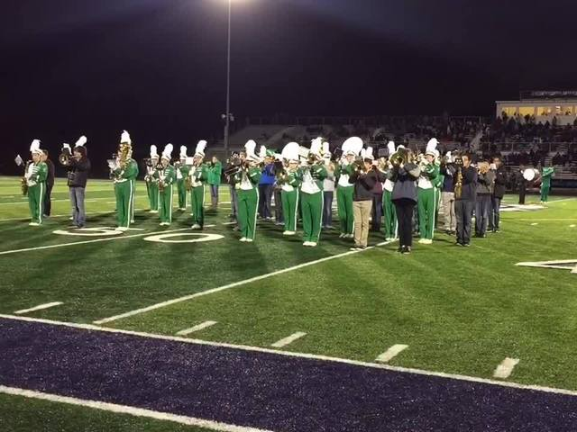 Friday Night Football | Mogadore Wildcats marching band