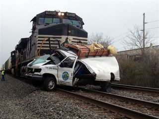 1 dead after train hits vehicle
