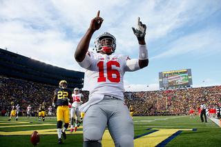 No. 8 Ohio State tops No. 12 Michigan 42-13