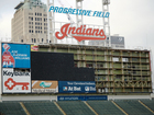 Cleveland Indians get new scoreboard for 2016