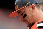 Johnny Manziel shows off for NFL scouts