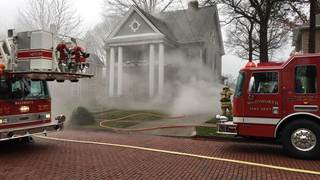 House fire, possible explosion in Wadsworth