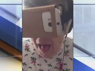 VIDEO: Grandma loves grandkids' virtual game