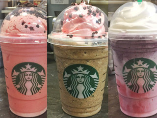 New Valentine's Day themed Starbucks drinks