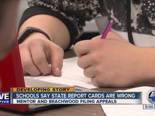 Mentor, Beachwood schools say report cards wrong