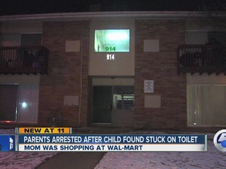 PD find drugs in home, child stuck in toilet