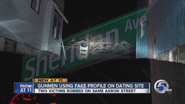 Dating website robbery