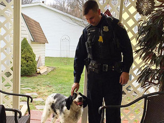 Officer goes above call of duty for woman's dog