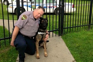 Ohio officer rejects deal to let him keep K-9