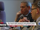 CLE council holds meeting on lead poisoned homes