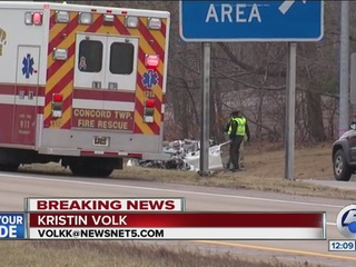 Man, 87, killed in crash on I-90 in Concord Twp.