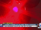 FBI investigating laser strikes at CLE airport