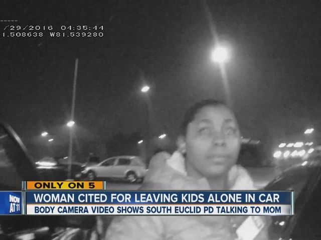 Mother accused of leaving kids in cold car