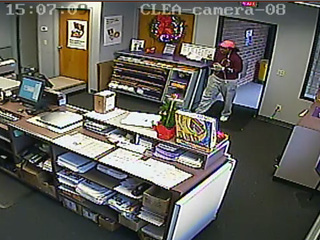 Westlake PD search for cell phone suspect