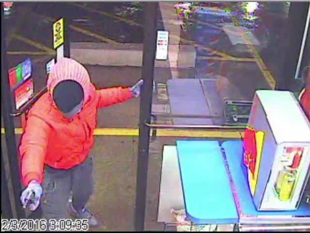 CLE gas station robbery