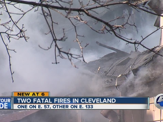 Two fatal fires in Cleveland