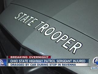 UPDATE: Trooper hurt in Portage Co. traffic stop