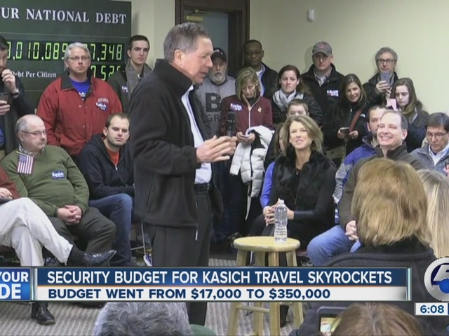 John Kosich shows action in New Hampshire one day before primary begins