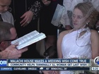 Wedding wish comes true for terminally ill woman