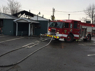 Baker's Cafe'33 destroyed by fire in Canton