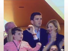 Eli Manning's weird reaction during Super Bowl