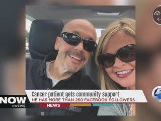 Cancer patient gets 260 Facebook supporters