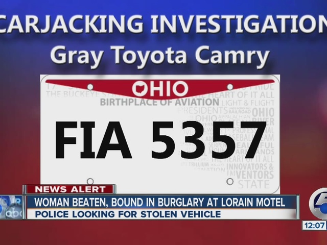 Lorain police looking for stolen vehicle