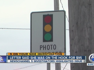 Speed-camera confusion in Cleveland suburb