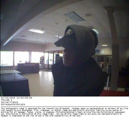 CLE FBI, PD search for man who robbed KeyBank