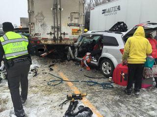 TRAFFIC: All I-90 lanes reopened after crash