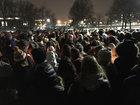 Hundreds gather to remember murdered KSU student