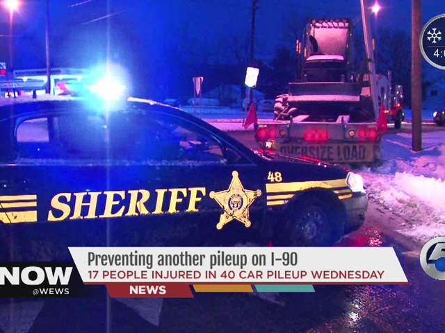 Preventing another pile-up in I-90