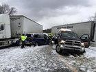 17 injured, 40 cars involved in I-90 crash