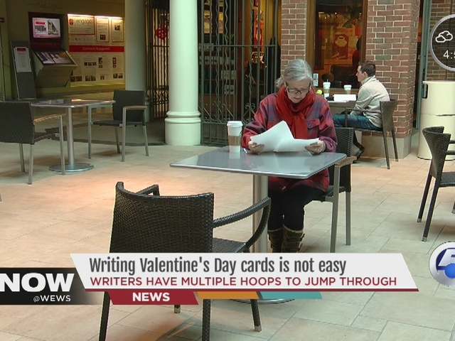 There's a lot that goes into making Valentine's Day cards