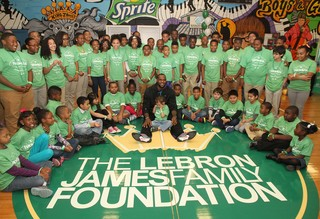 New sports line to benefit Lebron James Fdn.