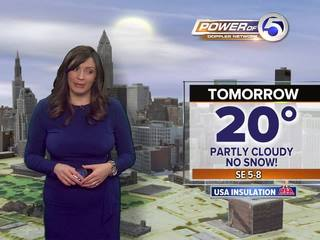 Forecast: Dry but COLD for your Valentine's Day