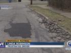 CLE drivers question city's pothole filling