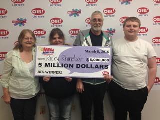 Mansfield man wins $5 million from Mega Millions