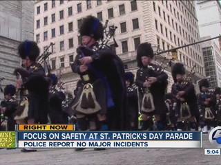 No problems at 149th St. Patrick's Day Parade