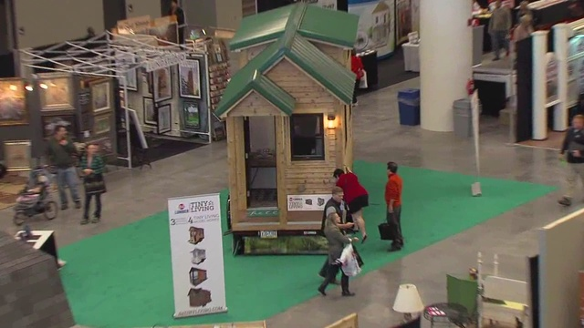 Tiny houses draw a big crowd at Home and Remodeling Expo at