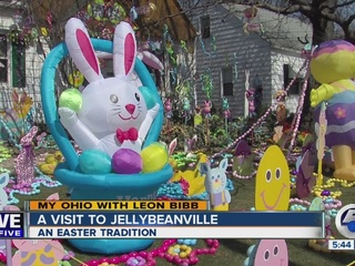 Jellybeanville is one man's tribute to Easter