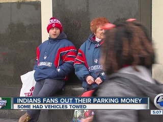 Parking problems on CLE Indians' Opening Day
