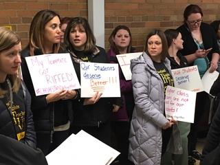 CHUH staff reduction upsets teachers, parents