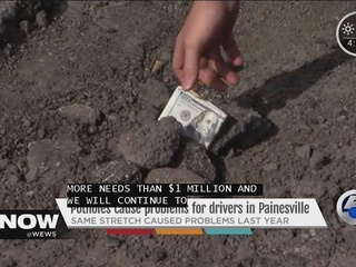 Potholes a pain in Painesville, progress made