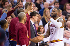Cavs make 20 3s in Game 2 win over Pistons